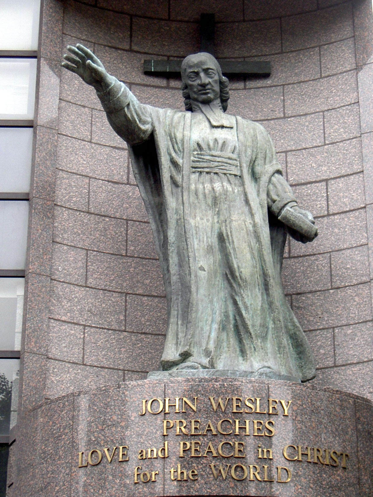 John_Wesley_Statue_at_Aoyama_Gakuin_University