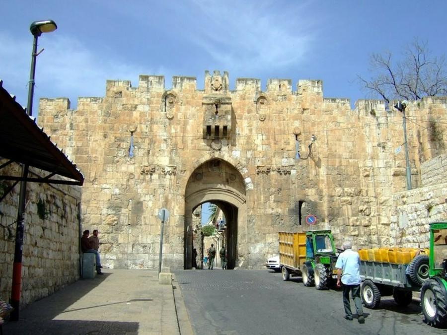エルサレムの城壁