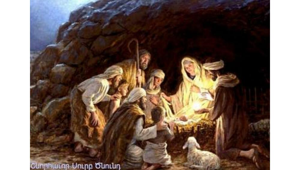 クリスマス羊飼いとトリ